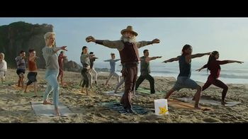 Carl's Jr. Beyond Famous Star With Cheese TV Spot, 'Malibu Yoga' - Thumbnail 8