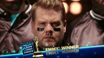 The Late Late Show Super Bowl 2019 TV Promo, 'James Does It All' - Thumbnail 4