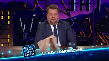 The Late Late Show Super Bowl 2019 TV Promo, 'James Does It All' - Thumbnail 8