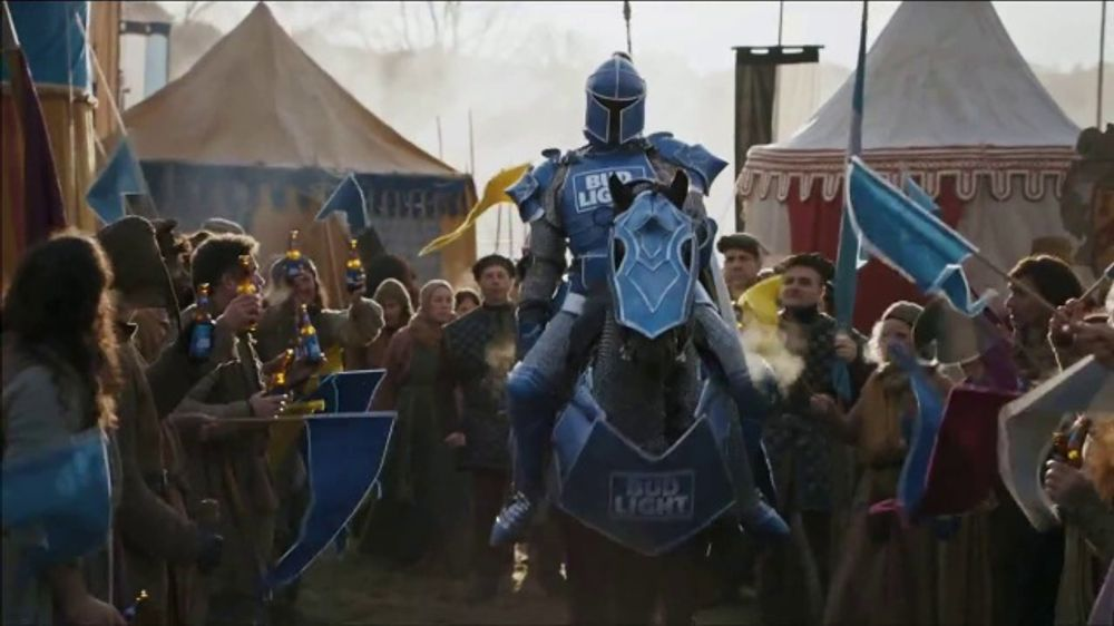 Bud Light Super Bowl 2019 TV Commercial, 'HBO: Game of Thrones: Jousting Match'