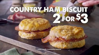 Bojangles' Country Ham Biscuit TV Spot, 'Made From Scratch' - Thumbnail 9