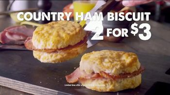 Bojangles' Country Ham Biscuit TV Spot, 'Made From Scratch' - Thumbnail 2