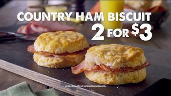 Bojangles' Country Ham Biscuit TV Spot, 'Made From Scratch' - Thumbnail 3