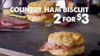 Bojangles' Country Ham Biscuit TV Spot, 'Made From Scratch' - Thumbnail 8