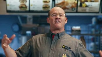 Hardee's Grilled Cheese Bacon Thickburger TV Spot, 'It's the Future' Ft. David Koechner - Thumbnail 5