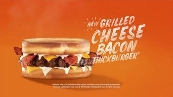 Hardee's Grilled Cheese Bacon Thickburger TV Spot, 'It's the Future' Ft. David Koechner - Thumbnail 7