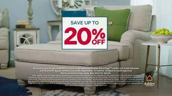 Ashley HomeStore Presidents Day Sale TV Spot, 'Save 20 Percent' - Thumbnail 3