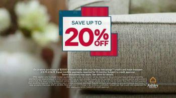 Ashley HomeStore Presidents Day Sale TV Spot, 'Save 20 Percent' - Thumbnail 4