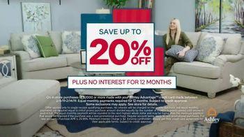 Ashley HomeStore Presidents Day Sale TV Spot, 'Save 20 Percent' - Thumbnail 5