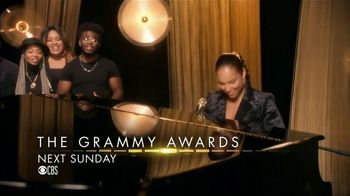 2019 Grammys Super Bowl 2019 TV Spot, 'Alicia Keys at the Piano' - Thumbnail 10