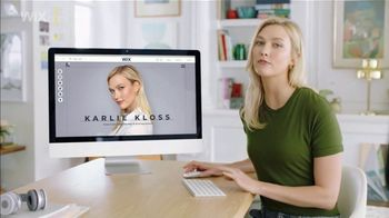 Wix.com Super Bowl 2019 TV Commercial, 'Let People Find You' Featuring Karlie Kloss