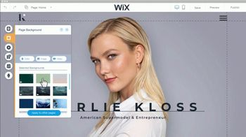 Wix.com Super Bowl 2019 TV Commercial, 'Let People Find You' Featuring Karlie Kloss - Thumbnail 4