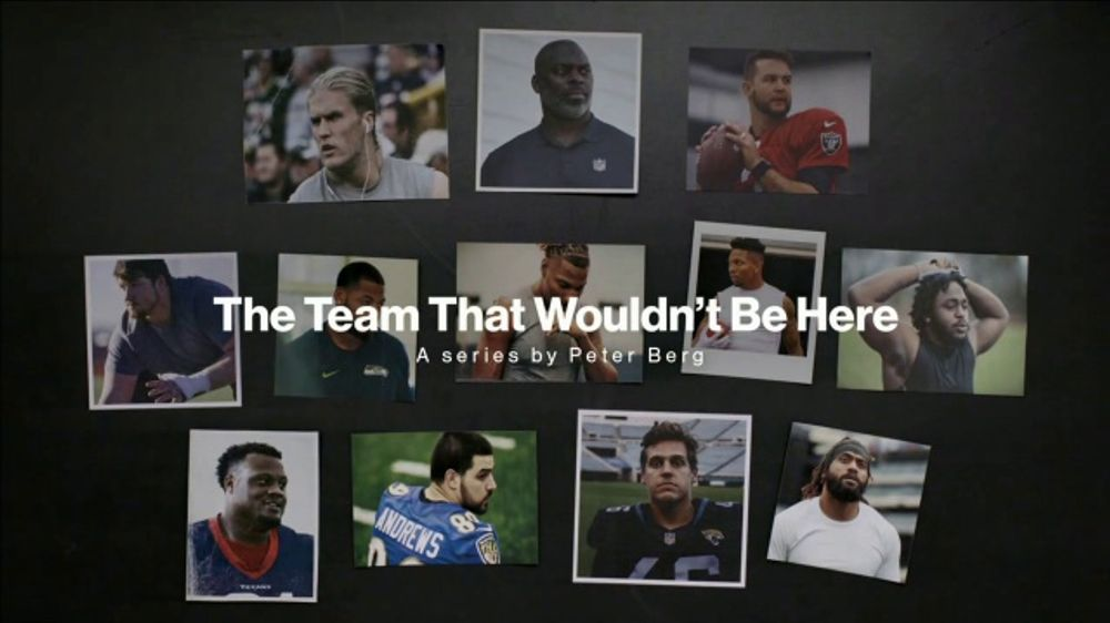 Verizon Super Bowl 2019 TV Commercial, 'The Team That Wouldn't Be Here'