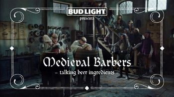 Bud Light Super Bowl 2019 TV Spot, 'Medieval Barbers' - Thumbnail 2