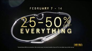 Kay Jewelers TV Spot, 'Celebrate Valentine's Day: 25-50 Percent Off Storewide' - Thumbnail 9