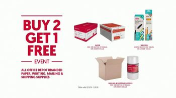 Office Depot OfficeMax Buy Two Get One Free TV Spot, 'For the Team' - Thumbnail 9
