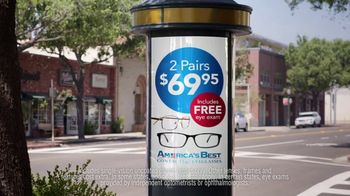 America's Best Contacts and Eyeglasses TV Spot, 'Street Performer' - Thumbnail 4