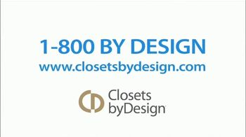 Closets by Design TV Spot, 'Imagine' - Thumbnail 9