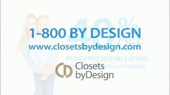 Closets by Design TV Spot, 'Imagine' - Thumbnail 8