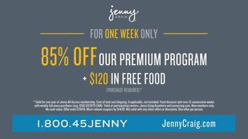 Jenny Craig Rapid Results TV Spot, 'Brittany, Jessica and Shiella: 85 Percent' - Thumbnail 9