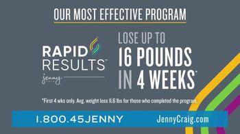 Jenny Craig Rapid Results TV Spot, 'Brittany, Jessica and Shiella: 85 Percent' - Thumbnail 3