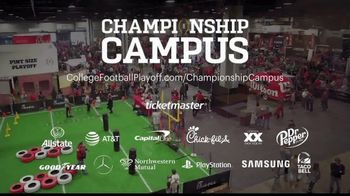 College Football Playoff Foundation TV Spot, 'Championship Campus: Bay Area 2019' - Thumbnail 10