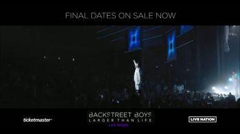 Backstreet Boys Larger than Life Las Vegas Residency TV Spot, 'Zappos! Theater' - Thumbnail 1