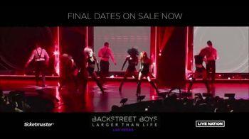 Backstreet Boys Larger than Life Las Vegas Residency TV Spot, 'Zappos! Theater' - Thumbnail 2