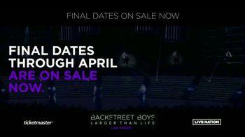 Backstreet Boys Larger than Life Las Vegas Residency TV Spot, 'Zappos! Theater' - Thumbnail 4