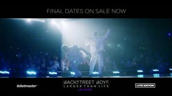 Backstreet Boys Larger than Life Las Vegas Residency TV Spot, 'Zappos! Theater' - Thumbnail 6
