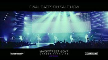 Backstreet Boys Larger than Life Las Vegas Residency TV Spot, 'Zappos! Theater'