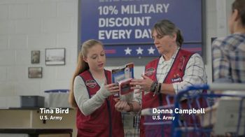 Lowe's TV Spot, 'Military Roots Run Deep' - Thumbnail 5