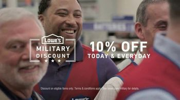 Lowe's TV Spot, 'Military Roots Run Deep' - Thumbnail 7