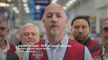 Lowe's TV Spot, 'Military Roots Run Deep' - Thumbnail 8