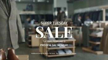 JoS. A. Bank Super Tuesday Sale TV Spot, 'February 2019: Suits, Dress Shirts and Clearance' - Thumbnail 7