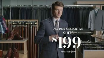 JoS. A. Bank Super Tuesday Sale TV Spot, 'February 2019: Suits, Dress Shirts and Clearance' - Thumbnail 4