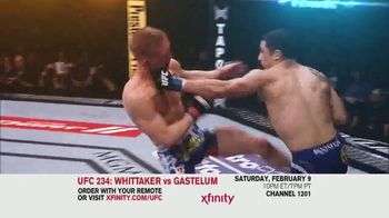 XFINITY On Demand TV Spot, 'UFC 234: Whittaker vs. Gastelum' Song by Zayde Wolf - Thumbnail 3