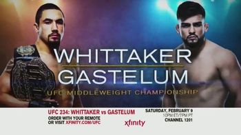 XFINITY On Demand TV Spot, 'UFC 234: Whittaker vs. Gastelum' Song by Zayde Wolf - Thumbnail 4