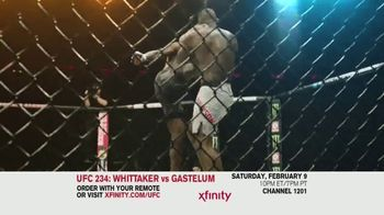 XFINITY On Demand TV Spot, 'UFC 234: Whittaker vs. Gastelum' Song by Zayde Wolf - Thumbnail 6