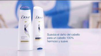 Dove Intensive Repair Conditioner TV Spot, 'Prueba de color' [Spanish] - Thumbnail 6