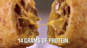 Hot Pockets High Protein Steak & Cheddar TV Spot, 'Crush Hunger' - Thumbnail 9