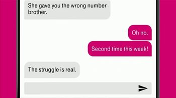 T-Mobile Unlimited TV Spot, 'The Struggle Is Real' Song by Hot Chocolate - Thumbnail 8