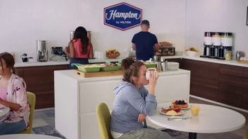 Hampton Inn & Suites TV Spot, 'Close Call' Song by Len - Thumbnail 1