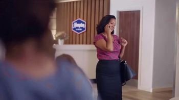 Hampton Inn & Suites TV Spot, 'Close Call' Song by Len - Thumbnail 4