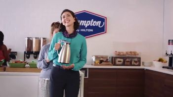 Hampton Inn & Suites TV Spot, 'Close Call' Song by Len - Thumbnail 7