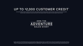 Land Rover Own the Adventure Sales Event TV Spot, 'Proven Performance' [T2] - Thumbnail 8