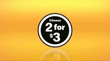 McDonald's $1 $2 $3 Dollar Menu TV Spot, 'Choose Two for $3' - Thumbnail 3