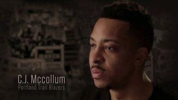 NBA Voices TV Spot, 'Grateful for the Sacrifices' Featuring C.J. McCollum, Blake Griffin, Kyle Lowry - Thumbnail 1