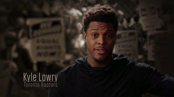 NBA Voices TV Spot, 'Grateful for the Sacrifices' Featuring C.J. McCollum, Blake Griffin, Kyle Lowry - 40 commercial airings