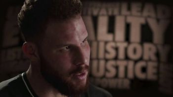NBA Voices TV Spot, 'Grateful for the Sacrifices' Featuring C.J. McCollum, Blake Griffin, Kyle Lowry - Thumbnail 7
